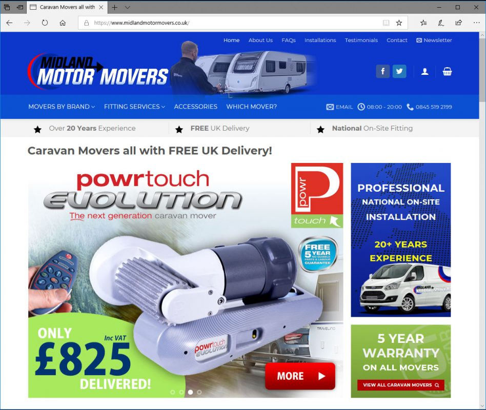 New caravan mover website launches