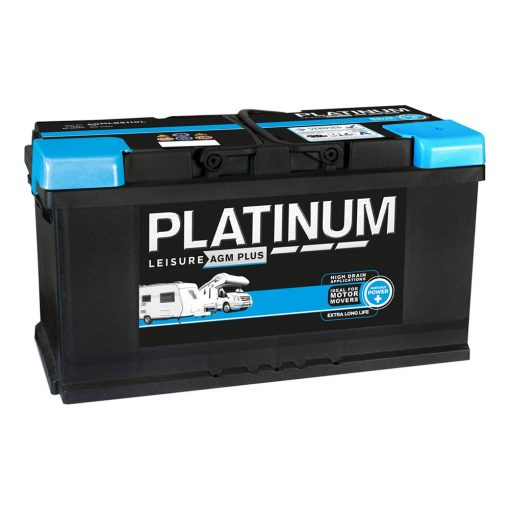 Platinum leisure agm plus caravan mover battery lbagb6110l