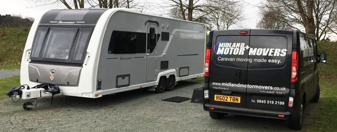 Installation of Powrtouch Caravan Mover On-Site