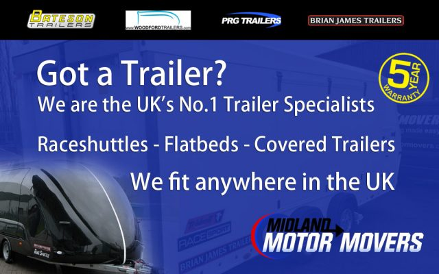 trailer and race shuttle caravan movers